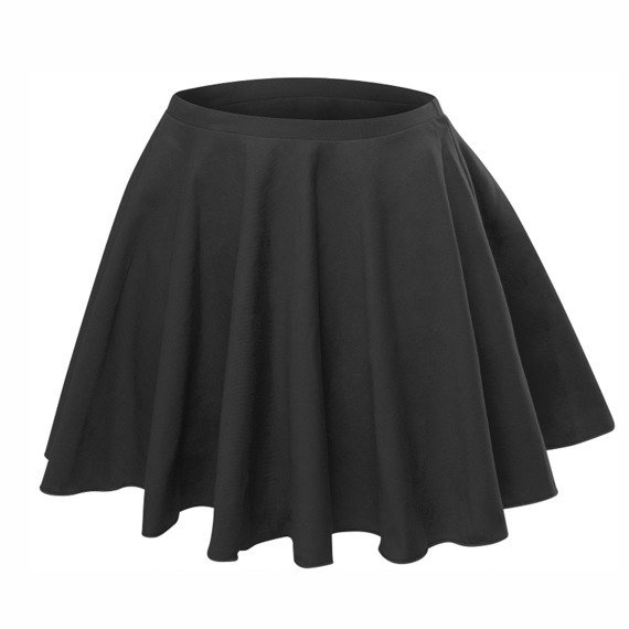 Flared skirt with full circle